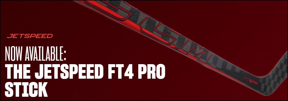 New CCM Jetspeed FT4 Pro Stick