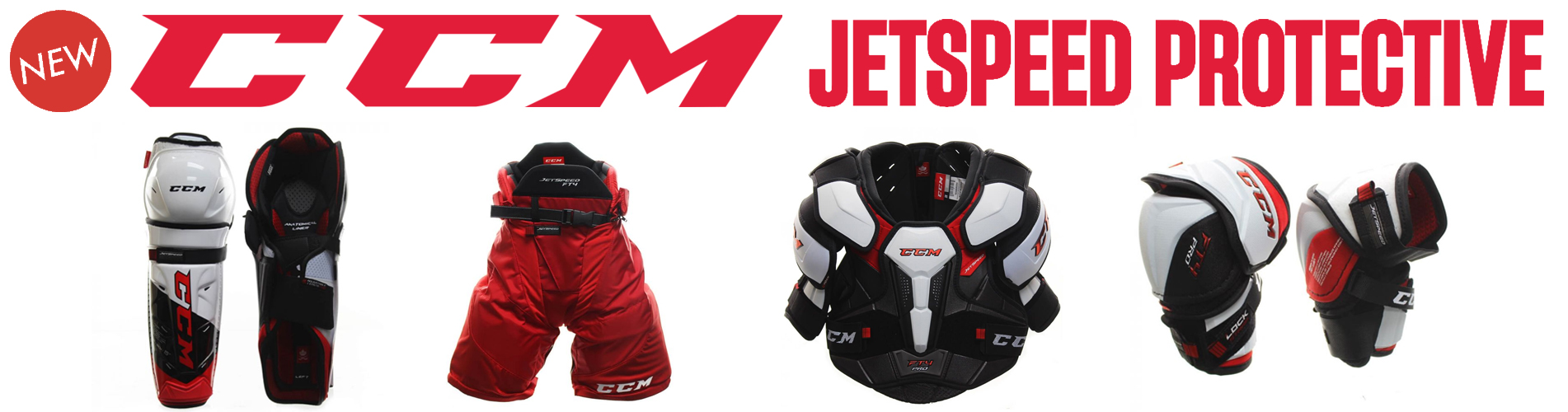 New 2021 CCM Jetspeed Protective Gear